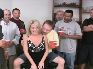 Petite Blonde MILF Fucked in All Her Holes