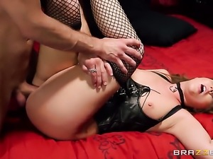 Bill Bailey has fantastic anal sex with Maddy Oreilly