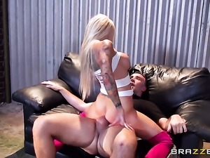 Keiran Lee is horny and cant wait no more to bang gorgeously sexy Helly Mae...
