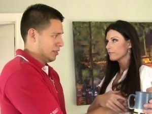 India Summer enjoys her stepson cock