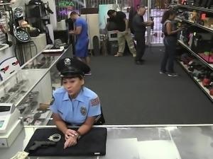 Tight pussy Police fucked hard