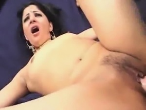 Indian Honey Gets Her Cock Filling!