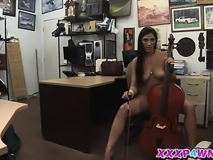 Horny hot chick Veronica wanted to be fucked by a huge dick