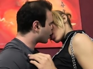Young lady-man licked and fucked