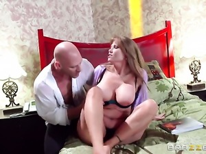 Darla Crane is on the way to the height of pleasure with hard dicked fuck...