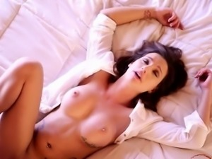 Horny wife filled pussy