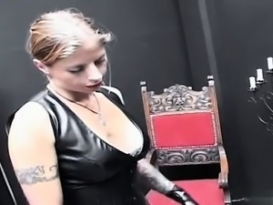 Sexy pornstar punished