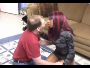 ebony girl fucks with older couple free