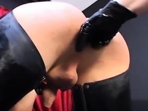 Hot student ball licking