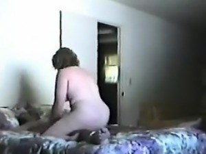 Chubby Wife Filmed Cheating With Her Lover