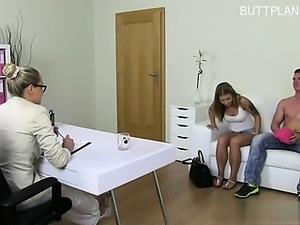 Pornstar ass spanking
