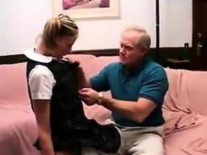 Teen Schoolgirl Wants The Older Man