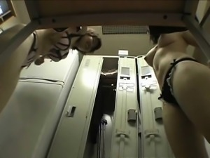 Hidden Camera In The Locker Room