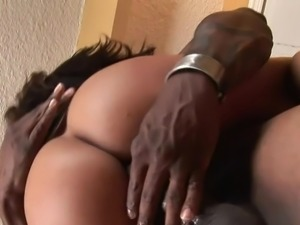 Oustanding boob spanish Jenaveve Jolie made love by large chocolate wiener...