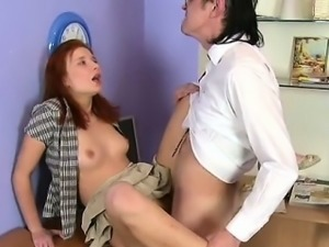 Hardcore lesson with sexy playgirl