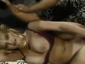 Blonde Beauty Masturbating With A Dildo