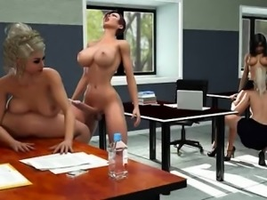 3d shemale babes in gangbang