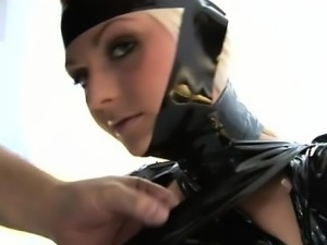 Sandra Sanchez in extreme fetish lesson