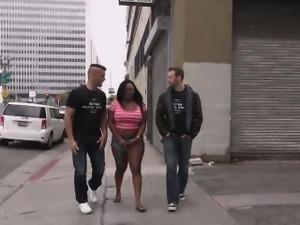 Jayden Starr Proves That She Is A Black Slut For White Cock
