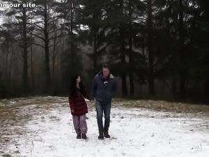 Awesome girlfriend xxx video with a skinny slut