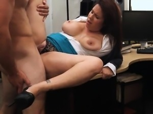 Busty wife pawns her vagina to earn money for her hubby