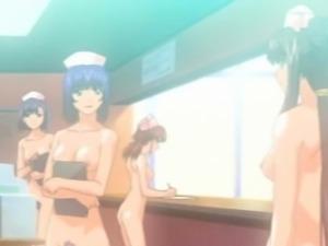 Roped japanese anime fingering pussy