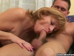 Mature sluts suck and get fucked hard and deep