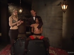 maestro teaches nikki how to bang