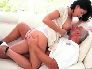 Grandpas and Teens Hot Love Compilation