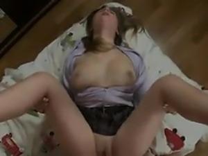 Russian Teen Schoolgirl Being Fucked