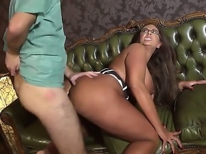 Emma Butt is one busty milf that is so desperate for cock that shell take it...