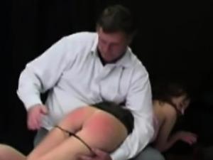 Some Fine OTK spanking