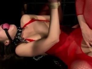 Extreme Lezdom Anal Bondage Fuck