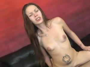 Cute girlfriend rough sex
