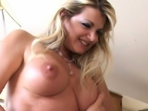 Busty mom Vicky Vette take cock in POV style