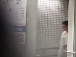 Spex asian piss in toilet