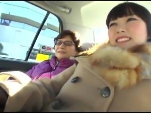76-year-old Grandma AV debut