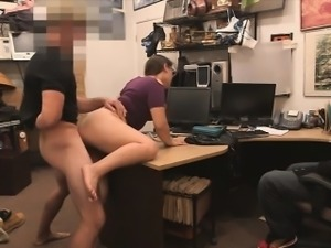 Babe sucking huge meaty dick for punishment