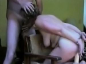 Tied up milf sucks, gets toyed, fucks and facialized