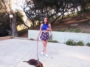Teen takes big black cock