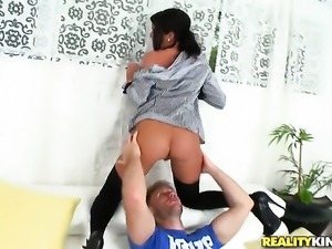 Small tits Michele gets penetrated