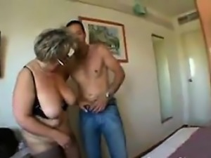 Thick Granny With Glasses Banging Doggystyle