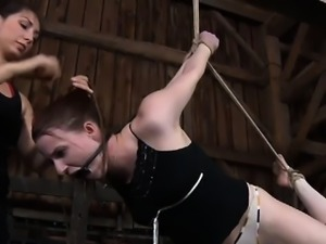 Hot pornstar bondage gangbang