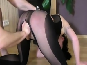 Teen slut fisted till she squirts