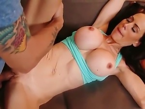 McKenzie Lee is a young milf with busty tits who loves to bone guys younger...