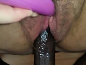 Fat Granny Gets a Big Black Cock in her Ass