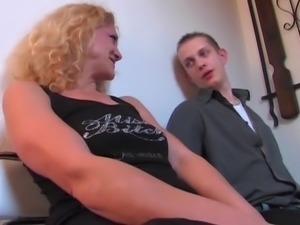 Die geile Blonde aus German Dirty Talk