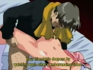 Bondage anime coed cutie hard fucked by pervert