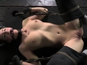 Kitty play treatment for kinky submissive