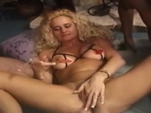 Horny girl throatfuck